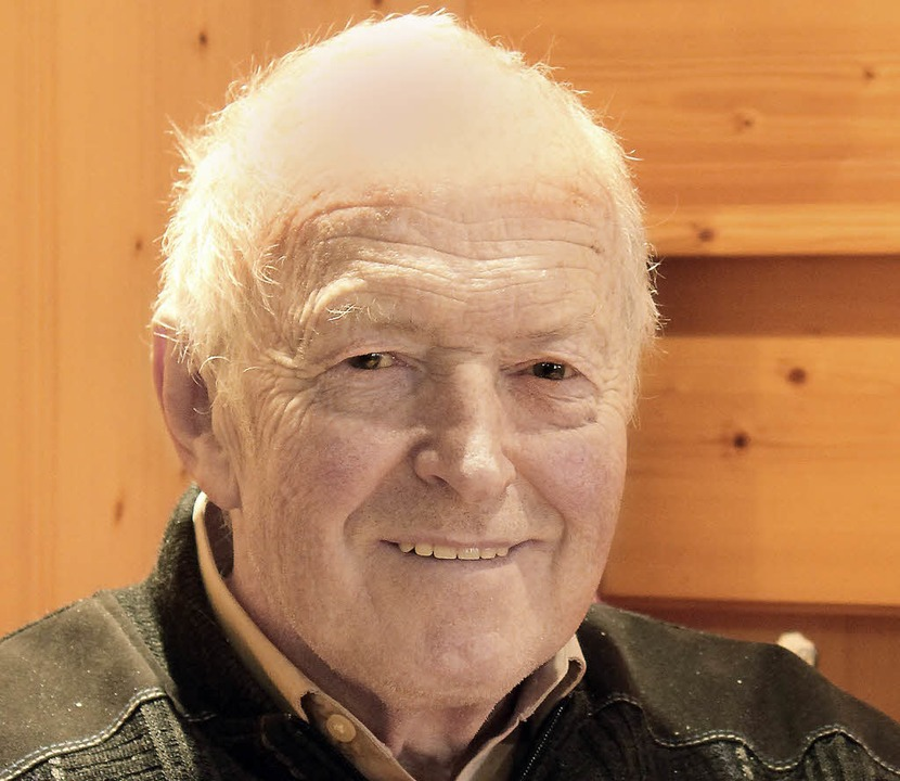 Erich Bizenberger wid 70  | Foto: Ute Kienzler
