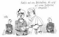 Bescheidenheit kommt gut an im Vatikan