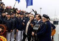 """Hollande lobt """"wunderbare"""" Geste Merkels"""