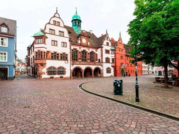 Sonntagmorgens zeigt sich Freiburg wie ausgestorben.