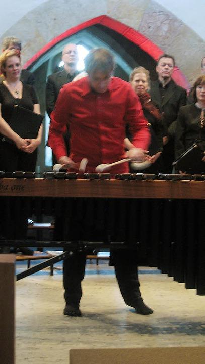 Das John Sheppard-Ensemble begeisterte...gramm auch in der Kirche in Teningen.   | Foto: Hildegard Karig