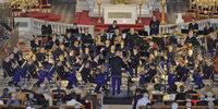 Musiker aus Paris im Elsass