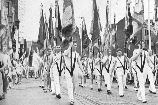 Fotos: Landesturnfest 1954 in Freiburg
