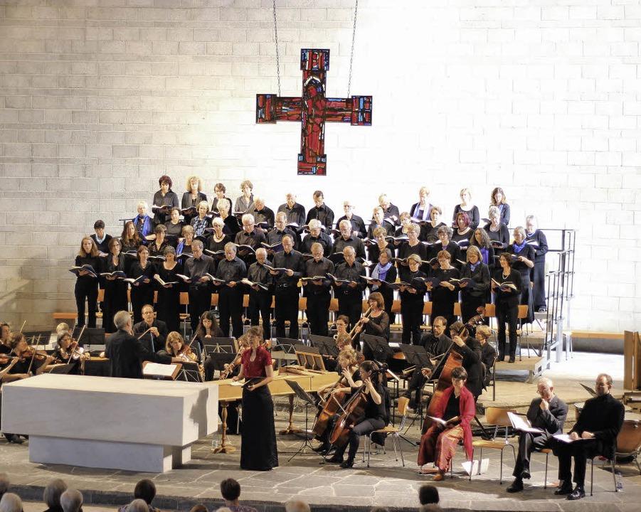 Der Motettenchor   | Foto: Gessner