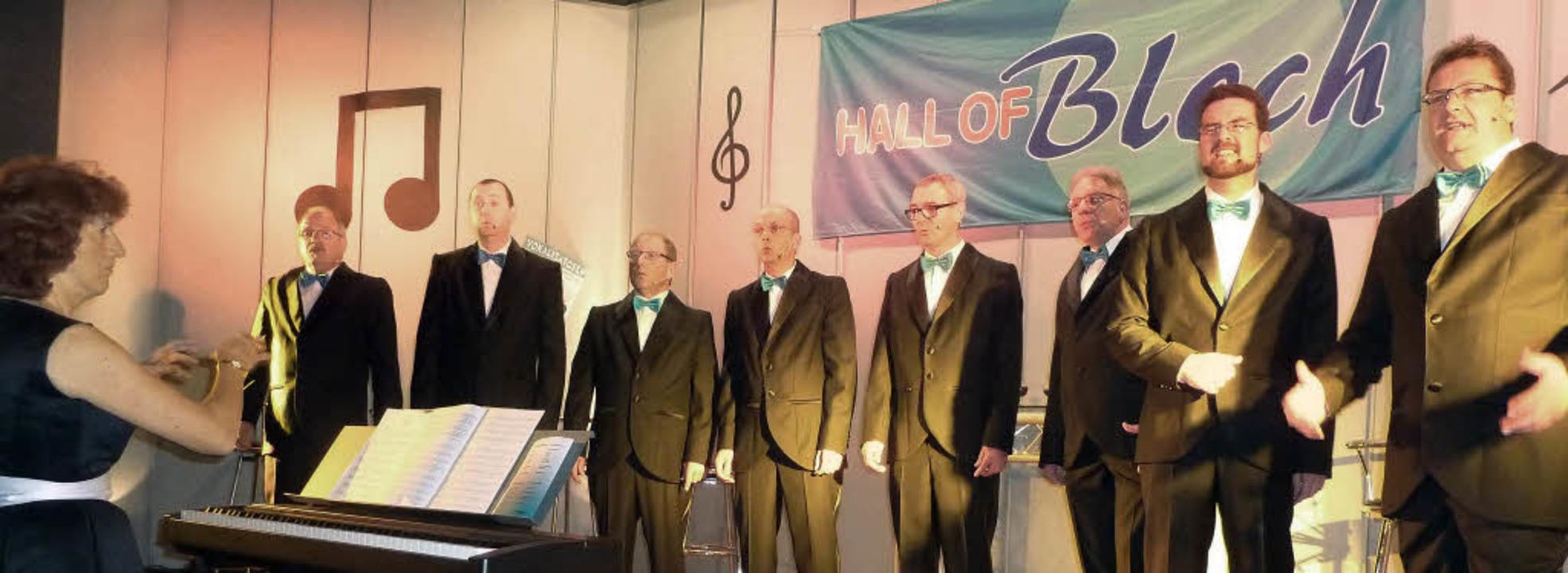 Gerne ließen sich die acht Vokalisator...nem noch höheren Leistungstand führen.  | Foto: Karlernst Lauffer