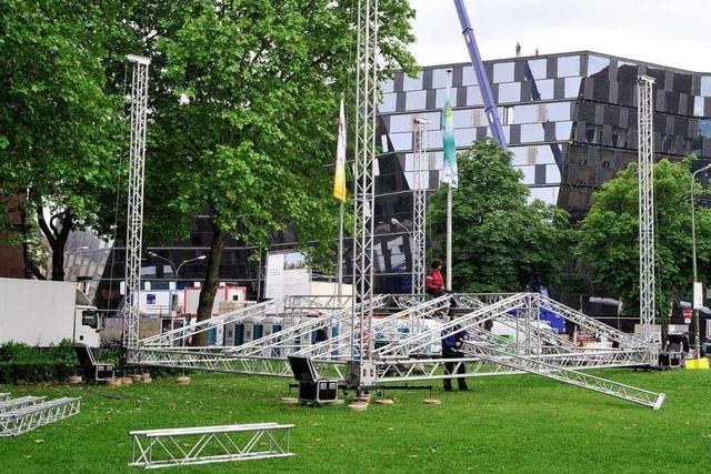 Landesturnfest in Freiburg: Spektakel und logistische Herausforderung