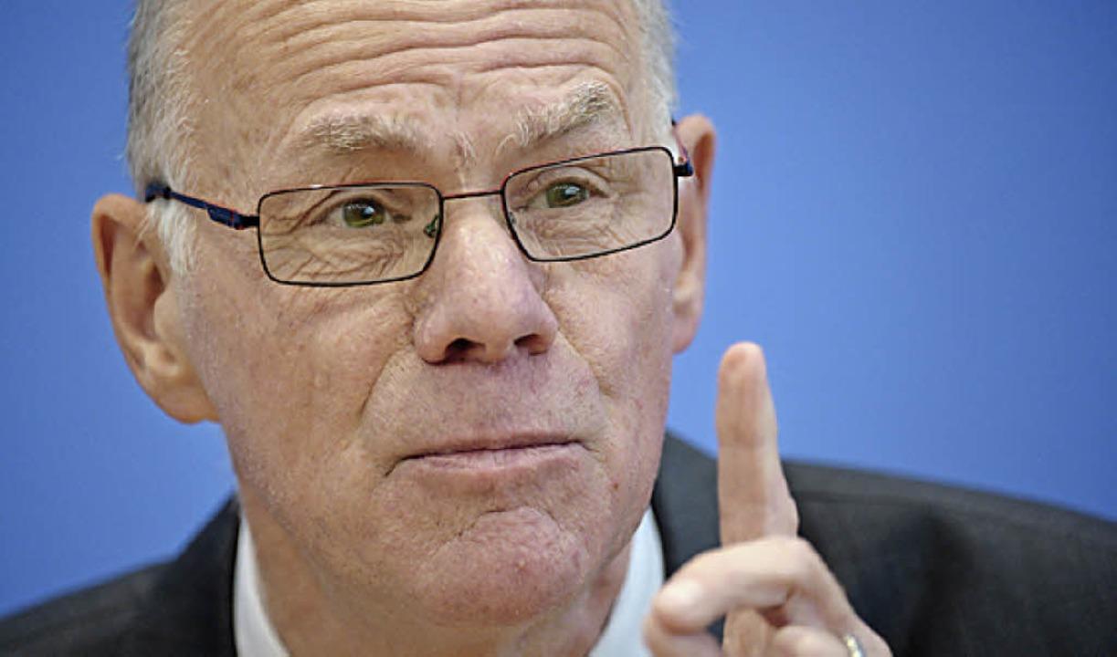 Norbert Lammert   | Foto: dpa