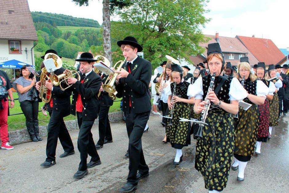 Die Veranstaltung des Bundes Heimat und Volksleben (BHV) fand bei der Trachtenkapelle Häg-Ehrsberg statt, die 115 Jahre alt wird. (Foto: Anja Bertsch)