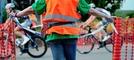 """Das Radrennen """"Rund um den Kirchberg"""""""