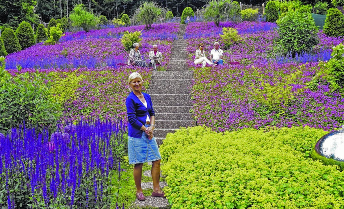 """Offene Gartentür"" in Waldsh...rnet: www.gartentag.info Bild: Freudig  | Foto: Freudig"