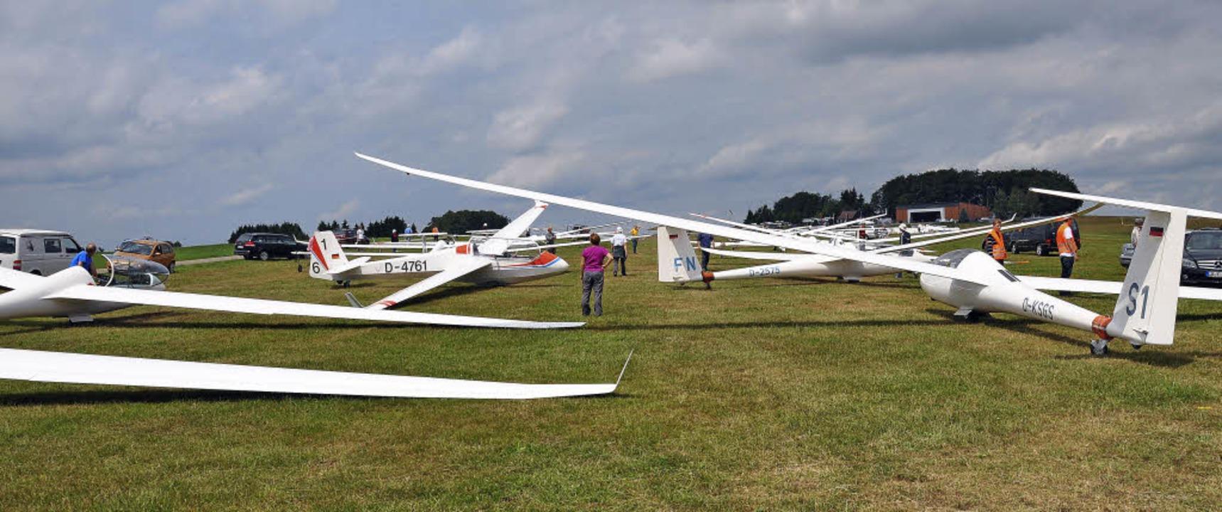 Start frei für die Segelflieger in Hütten am Wochenende  | Foto: zvg