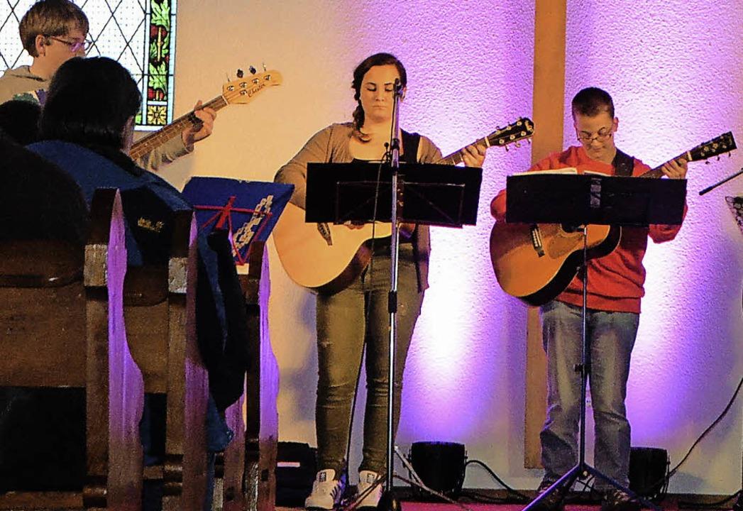 Due Musikschule ist eine feste Kulture...tte bei der Kulturnacht gehören dazu.   | Foto: Ingrid Böhm-Jacob