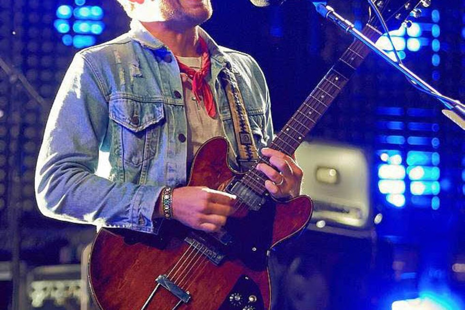 "Caleb Followill von  der us-amerikanischen Rockband ""Kings of Leon"" (Foto: dpa)"