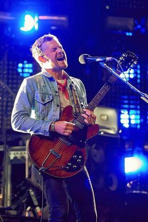 """Caleb Followill von  der us-amerikanischen Rockband """"Kings of Leon"""""""