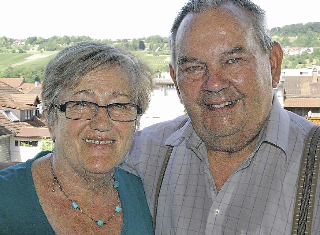 Monika und <b>Hermann Glück</b> – seit 50 Jahren ein Paar. Foto: Tolsdorf - 86133410