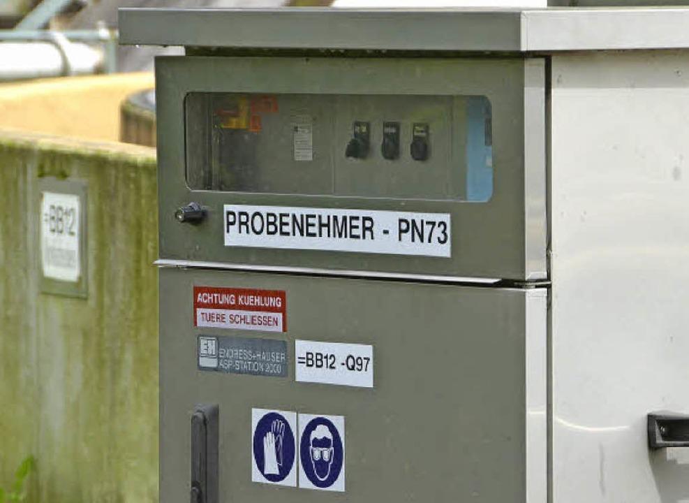 Ein Probenehmer auf dem Perimeter 2 der Kesslergrube  | Foto: Ralf H. Dorweiler