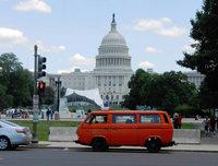 Feuerwehrauto aus dem Schwarzwald macht die Straßen von Washington unsicher