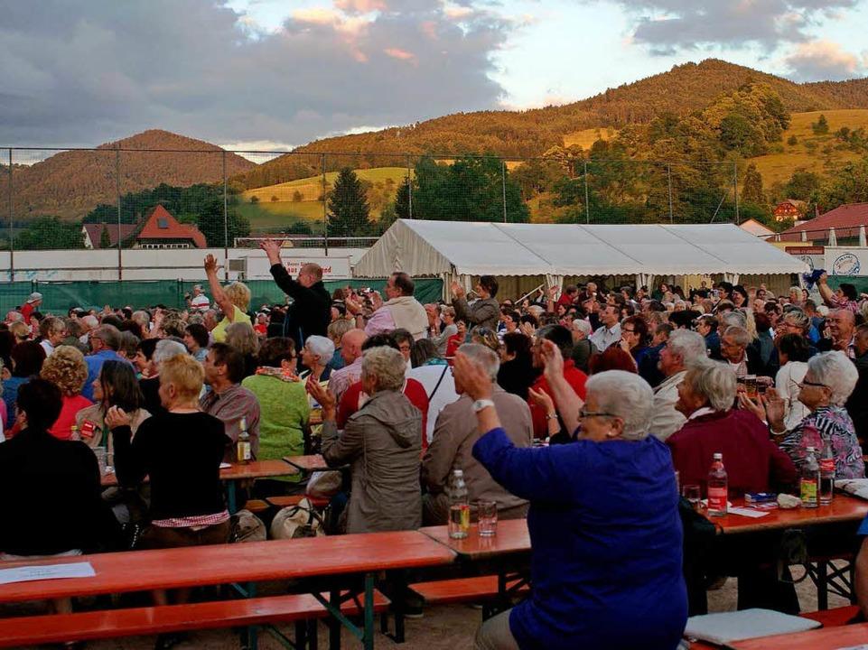 Rund 1000 Menschen waren zum Festival gekommen.  | Foto: Christian John