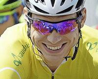 Martin fährt weiter in Gelb