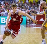 Deutsche Meisterschaft: Erster Matchball für Bayerns Basketballer