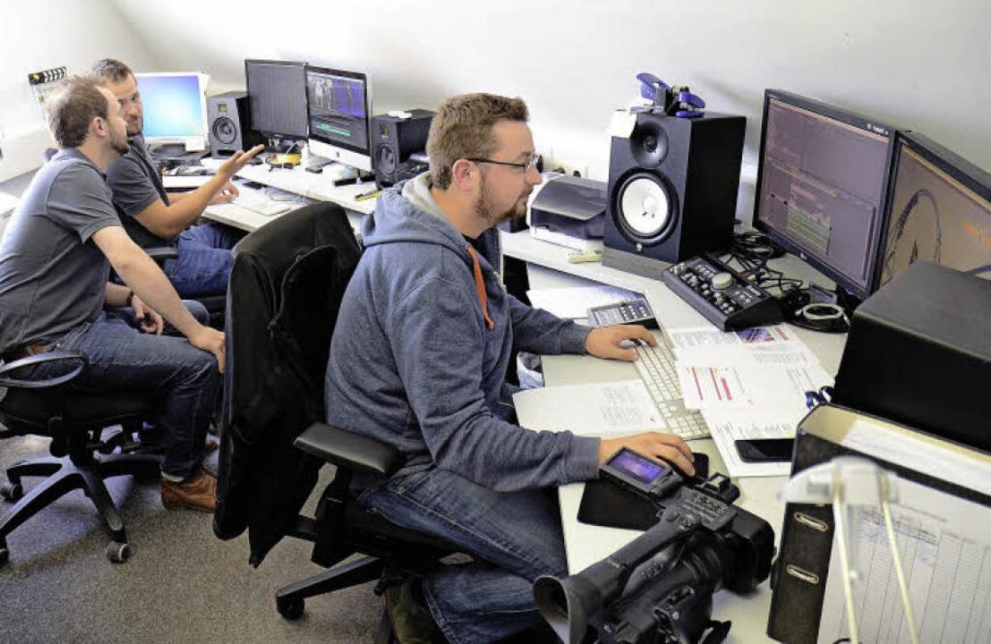 Das  Studio von Mack Media ist noch in... aber der Umzug in größere Räume an.    | Foto: Christian Kramberg