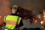 Fotos: Großbrand in St. Blasier Sägewerk