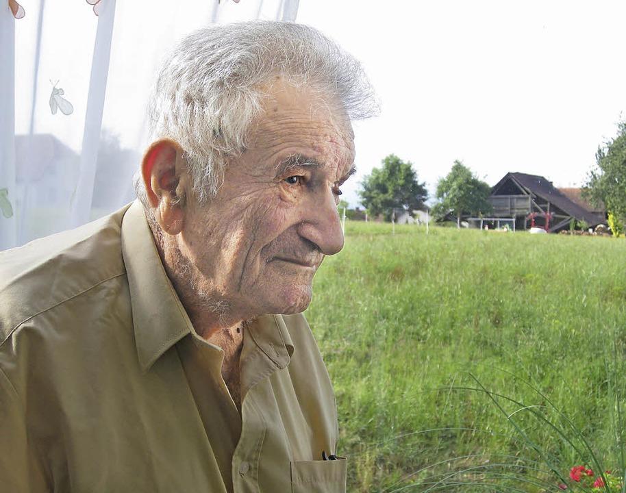Werner Bloch hat seine Kindheit in Emm... besucht Emmendingen ein Mal jährlich.  | Foto: Marco Kupfer
