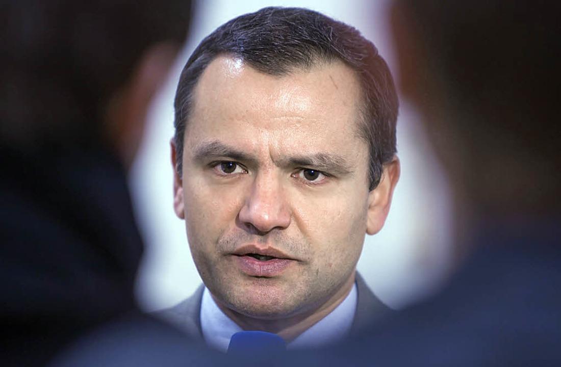 Erst leitete Sebastian Edathy  den NSU...stand eines Untersuchungsausschusses.   | Foto: dpa