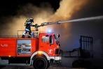 Fotos: Wieder brannte eine Scheune im Ried