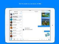 Facebook Messenger 7.0 unterstützt iPads
