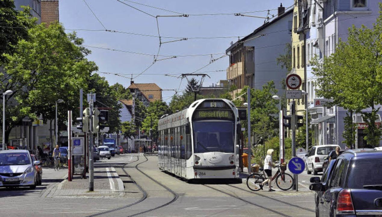 In der Carl-Kistner-Straße pulsiert da...l ganz schön eng und unübersichtlich.   | Foto: Michael Bamberger