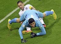 Thibaut Courtois und seine Serie gegen Lionel Messi