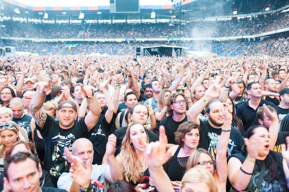 Metallica in Basel (Foto: FLORIAN FORSBACH)