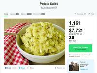 7.700 US-Dollar für Kartoffelsalat per Kickstarter