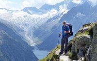 Volker Jung berichtet �ber seinen Fu�marsch �ber die Alpen