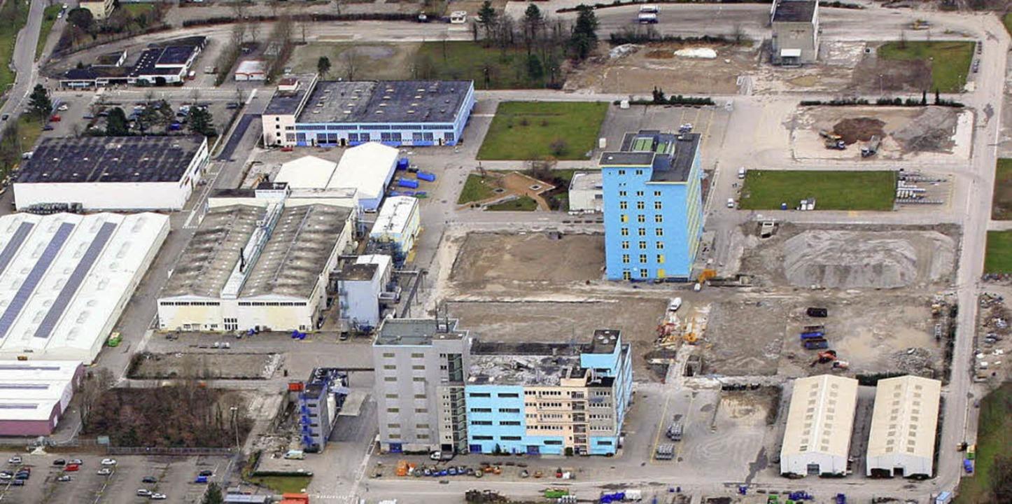 Auf dem BASF-Areal liegen  Altlasten i...nen Bebauungsplan eine Rolle spielen.   | Foto: Erich Meyer