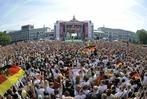 Fotos: Wie Berlin die Weltmeister feiert