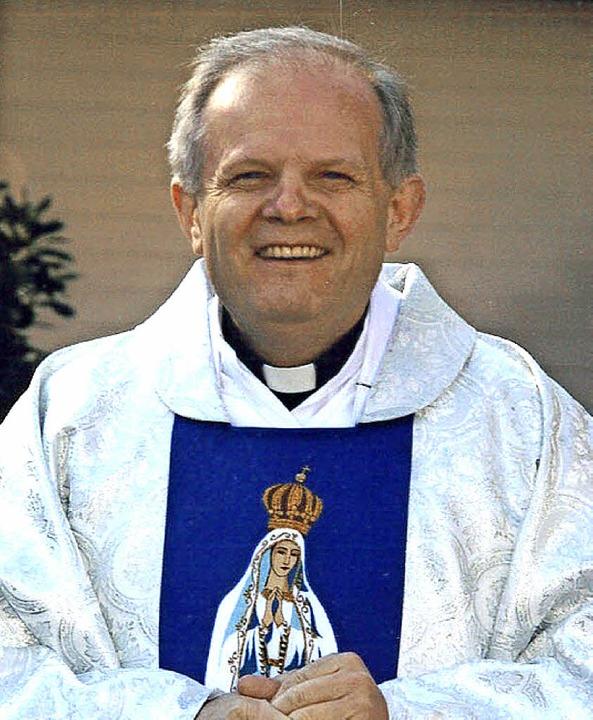 Monsignore Adam Borek wird neuer katho...amen Seelsorgeeinheit mit Gottenheim.   | Foto: privat