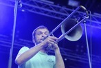 Fotos: La Brass Banda auf dem Emmendinger Schlossplatz