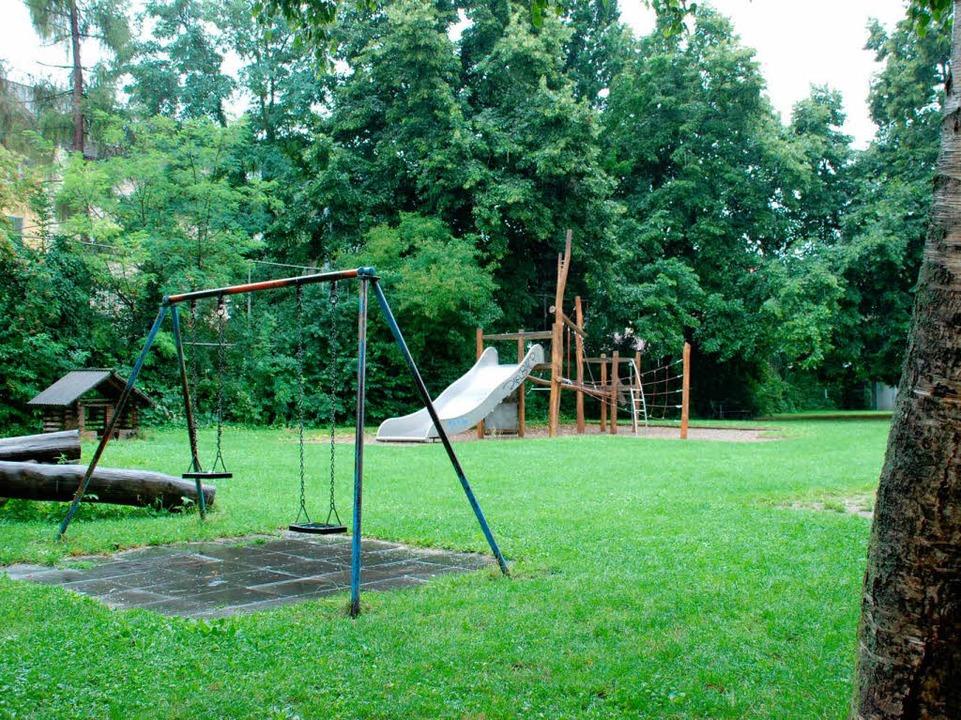 Auf diesem Spielplatz im Stadtteil Brühl wurde der Junge das letzte Mal gesehen.  | Foto: Charlotte Janz