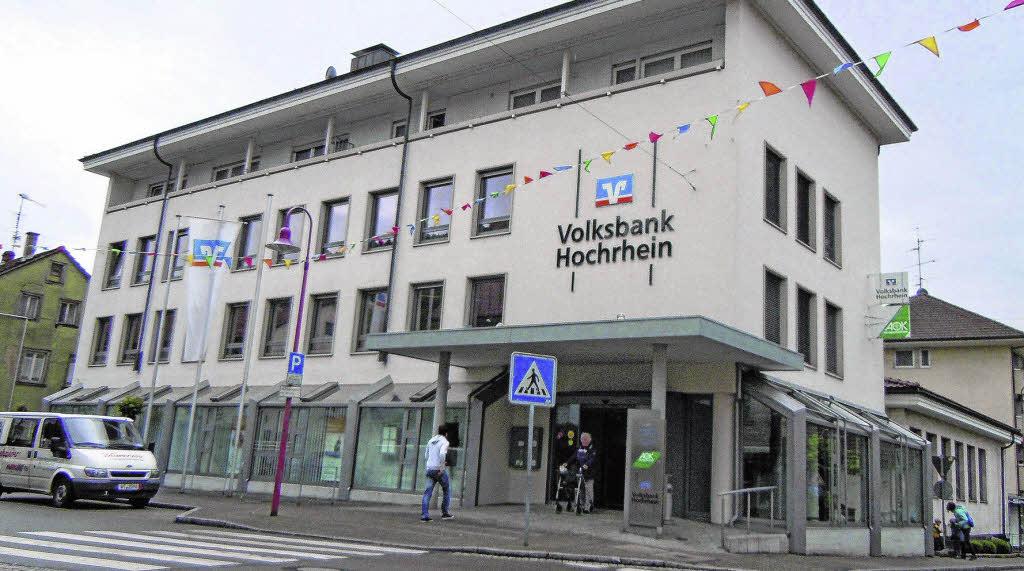 volksbank baut in tiengen kreis waldshut badische zeitung. Black Bedroom Furniture Sets. Home Design Ideas
