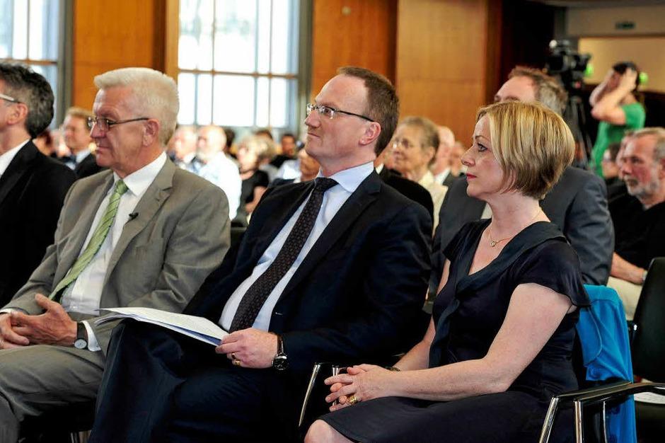 Der Ministerpräsident, Lars Feld und seine Frau Susanne Feld (Foto: Thomas Kunz)