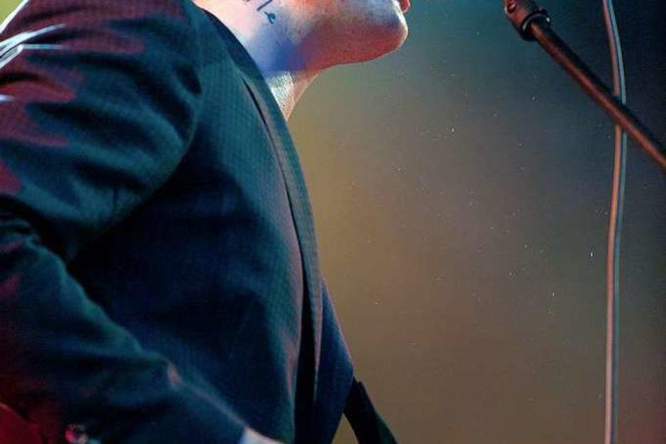 Pete Doherty in Lörrach. (Foto: Miroslav Dakov, Miroslav Dakov)