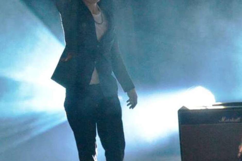 Gebrochener Mann, Sänger mit großer Strahlkraft: Pete Doherty. (Foto: Barbara Ruda)