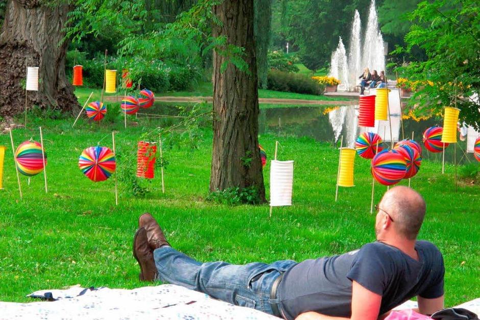 Impressionen vom Lichterfest (Foto: Jutta Schütz)