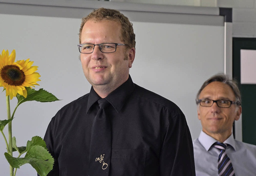 Hubert Wischnewskis (rechts) Dank galt besonders Erik Fiss.  | Foto: Martina Proprenter