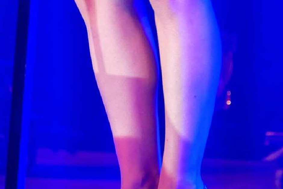 Diese Beine (Foto: Hans-Peter Müller)