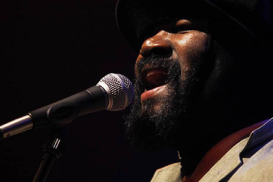Gregory Porter konzentriert sich auf das, was er am besten kann: singen. (Foto: Wolfgang Grabherr)