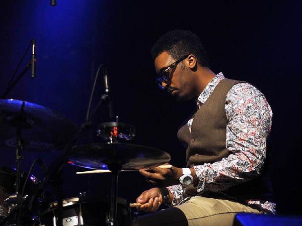Porters Schlagzeuger Emanuel Harrold.