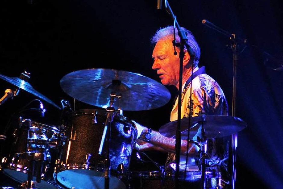 "Canned Heat-Drummer Adolfo ""Fito"" de la Para. (Foto: Wolfgang Grabherr)"